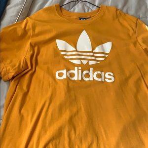 Adidas T-shirt mustard yellow